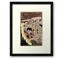 Don't Starve- Willow Framed Print