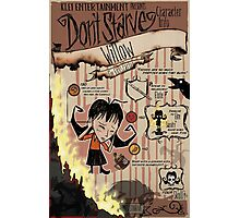 Don't Starve- Willow Photographic Print