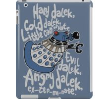 Little Can of Hate (Movie Dalek) iPad Case/Skin