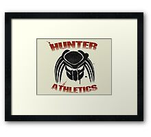 Hunter Athletics  Framed Print