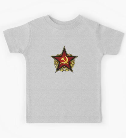 Russian Red Star Kids Tee