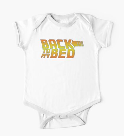 Back to my bed One Piece - Short Sleeve