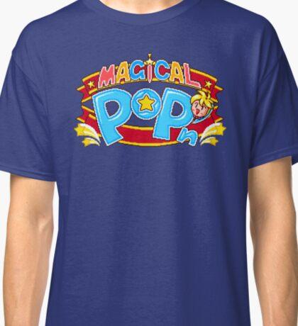 Magical Pop'n (SNES Title Screen) Classic T-Shirt