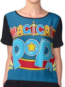 Magical Pop'n (SNES Title Screen) Chiffon Top