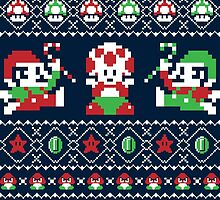 Super Christmas Bros by RetroReview