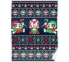 Super Christmas Bros Poster