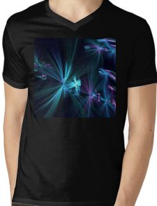 Aqua Wishes Mens V-Neck T-Shirt