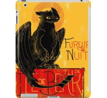 Fury of the Night - Vintage Edition iPad Case/Skin