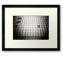 Building Lines Framed Print