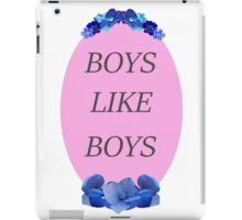 Boys Like Boys iPad Case/Skin