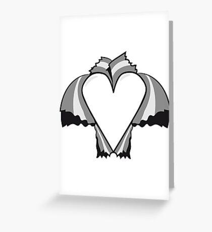 Loch herz liebe  Greeting Card