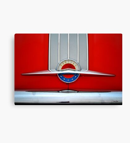 Pontiac 1954 Canvas Print