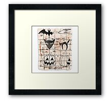 Plans For The Next Halloween Framed Print
