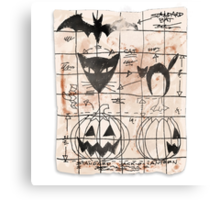 Plans For The Next Halloween Canvas Print