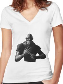 Singed - The mad chemist Women's Fitted V-Neck T-Shirt