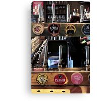 What's on Tap? - Craft Beer Co.  Canvas Print