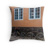 Bicycles of Aero 5 Throw Pillow