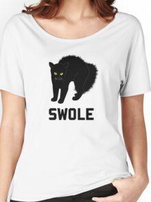 Swole Cat is Kitten Swole Women's Relaxed Fit T-Shirt