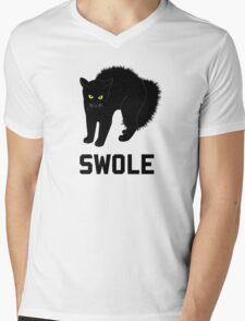Swole Cat is Kitten Swole Mens V-Neck T-Shirt
