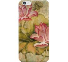 """""""The Lotus Family"""" from the series """"In the Lotus Land""""  iPhone Case/Skin"""