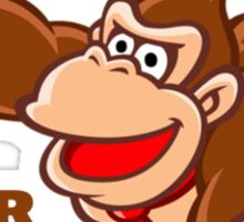 Donkey Kong How Big Sticker