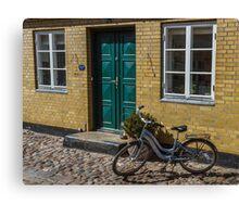 Bicycles of Aero 7 Canvas Print