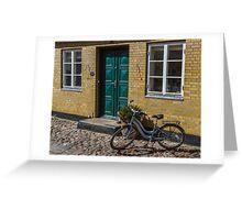 Bicycles of Aero 7 Greeting Card