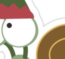 Snail Elf Sticker