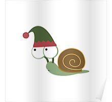 Snail Elf Poster