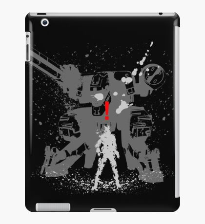 Tshirt The Snake iPad Case/Skin