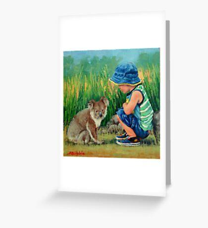 Little Friends Greeting Card
