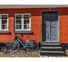 Bicycles of Aero 8 Photographic Print