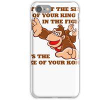 Donkey Kong King Size iPhone Case/Skin