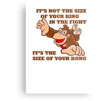 Donkey Kong King Size Metal Print