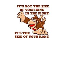 Donkey Kong King Size Photographic Print