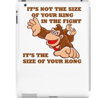 Donkey Kong King Size iPad Case/Skin