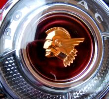 Pontiac 1954 Steering Wheel Sticker