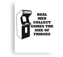 Arcade Collect Fridges Canvas Print