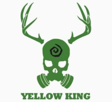 True Detective - Yellow King Gas Mask - Green by Prophecyrob