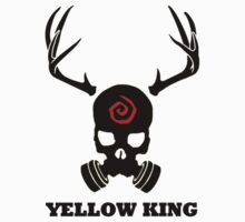 True Detective - Yellow King Gas Mask - Black by Prophecyrob