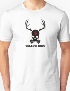 True Detective - Yellow King Gas Mask - Black Unisex T-Shirt