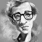 Woody Allen by arievanderwyst