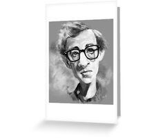 Woody Allen Greeting Card