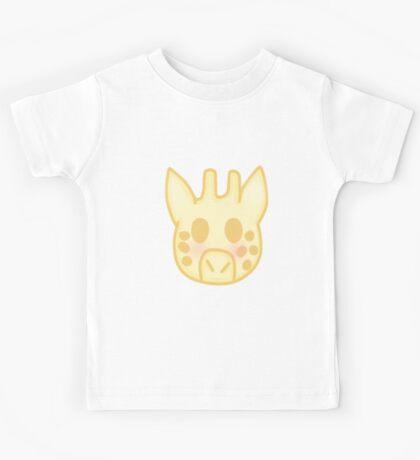 Kawaii Giraffe Kids Tee