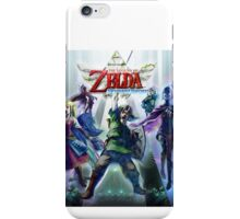 Skyward Sword Cover iPhone Case/Skin