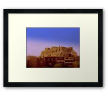 Ancient - and Modern Greece Framed Print