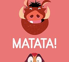 Timon and Pumbaa by 24julien