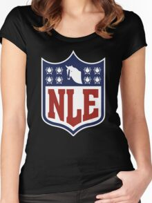 National League of Evil Women's Fitted Scoop T-Shirt
