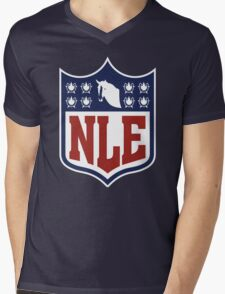National League of Evil Mens V-Neck T-Shirt