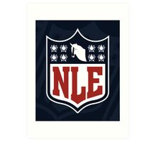 National League of Evil Art Print